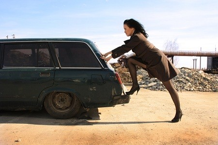 Nainen ja Lada - Autojen tyyppiviat
